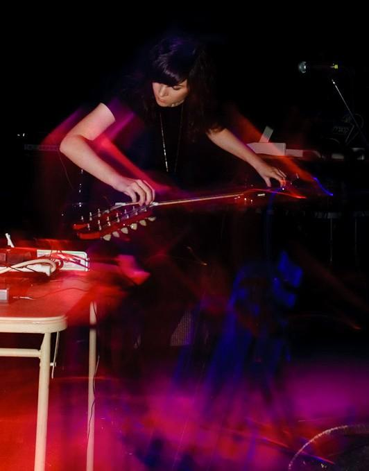 Noveller @ No Fun Fest - NY. Photo by Michael Muniak